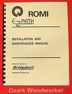CNC, Metalworking & Manufacturing Bridgeport 11865457 Romi EzPath ...