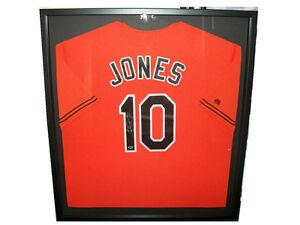 Details about Baseball Card Outlet Custom Jersey Frame Display Case  Baltimore Orioles Ravens