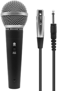 QiCheng/&LYS Dynamic Vocal Microphone,Professional Unidirectional Handheld for m