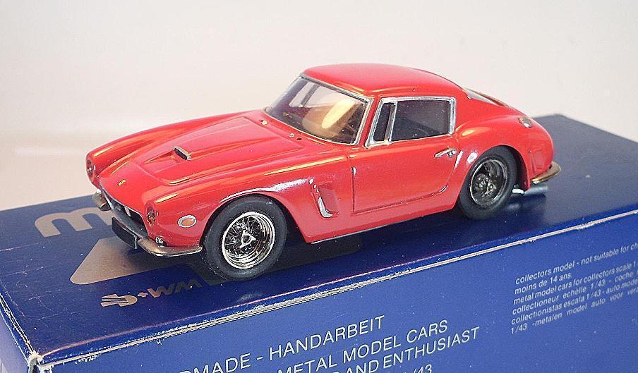 Danhausen AMR 1 43 Ferrari 250 SWB Berlinette Red Handmade OVP