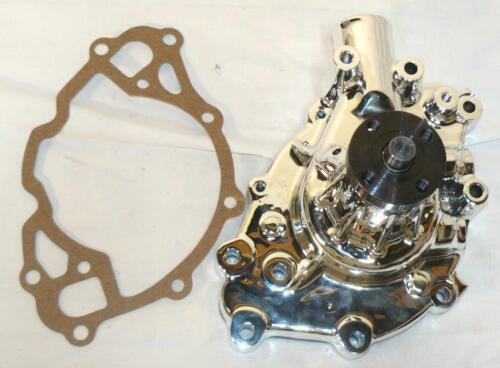 351W Aluminum High-Flow Reverse Rotation Mech Water Pump CHROME Ford SBF  302