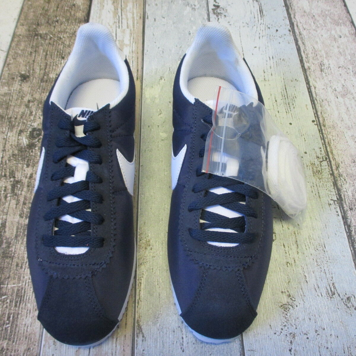 Nike Cortez Trainers Navy/ (4113756 Blanc  Taille 6 (4113756 Navy/ loc s16)c 8422fc