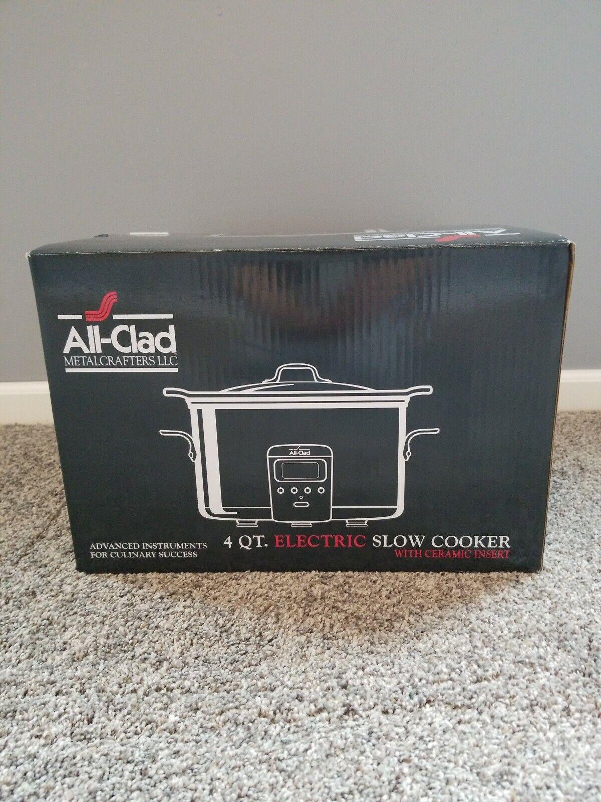 Tout-Clad 4-Qt électrique Autocuiseur avec céramique Insert (SD710851) NEW IN BOX