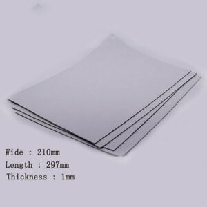 Details about 1pc 1mm Thick Self-Adhesive Soft Magnetic Sheets Teaching  Craft Fridge Magnet