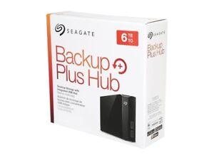 Seagate 6TB Backup Plus Hub USB 3.0 Desktop 3.5 Inch External HD for ... 9818b2c8a9
