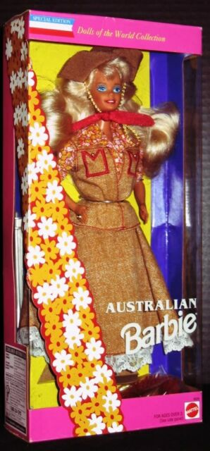 Australian Barbie Doll (Dolls of the World Collection)(Special Edition)(New)