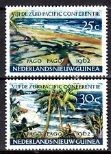 Dutch New Guinea - 1962 South Pacific conference - Mi. 76-77 MH
