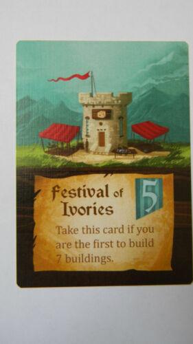 Festival of Ivories Islebound Board Game Promo Card