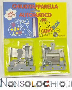 Antifurto Blocca Tapparelle Persiane Genioblock Grigio Antintrusione