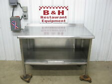 48 Stainless Steel Heavy Duty Kitchen Cabinet Work Table 4