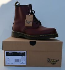 46411d89f715 Dr. Martens 1460 Cherry Red Smooth 11822600 Unisex 8 Eye Boots Womens Mens  NEW