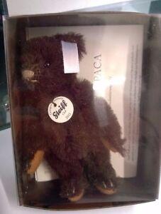 Steiff-Vintage-soft-toy-Miniature-Steiff-Club-Brown-Bear-2011-Free-Post-UK