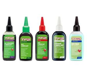 WELDTITE-TF2-BIKE-CYCLE-LUBE-TEFLON-LUBRICANT-OIL-Ceramic-Dry-Extreme-Plus