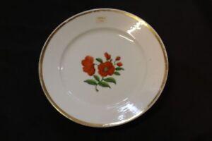 Kuchenteller-Goldrand-Blumendekor-handbemalt-5-7