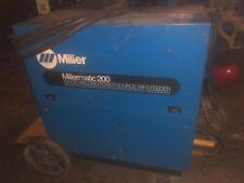 Miller Millermatic 200 Dc Welding Wire Power Source Wire Feeder Welder