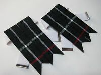 Mackenzie Kilt Hose/sock Flashes For Men - Free Shipping