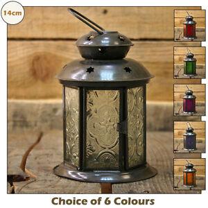 Pretty-14cm-Moroccan-Lantern-Tealight-Tea-Light-Candle-or-Votive-Candle-Holder