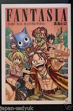 "JAPAN Hiro Mashima Art book: Fantasia ""Fairy Tail Illustrations"""