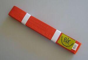 Guertel-orange-Judo