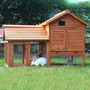Giant-Rabbit-Hutch-Guinea-Pig-cage-Ferret-House-or-Chicken-Coop