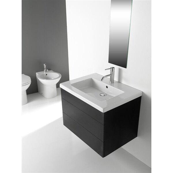 Lavandino Lavabo ceramica Consolle bagno Modello Capri ceramica Lavabo bianco - Varie misure 5e39f3