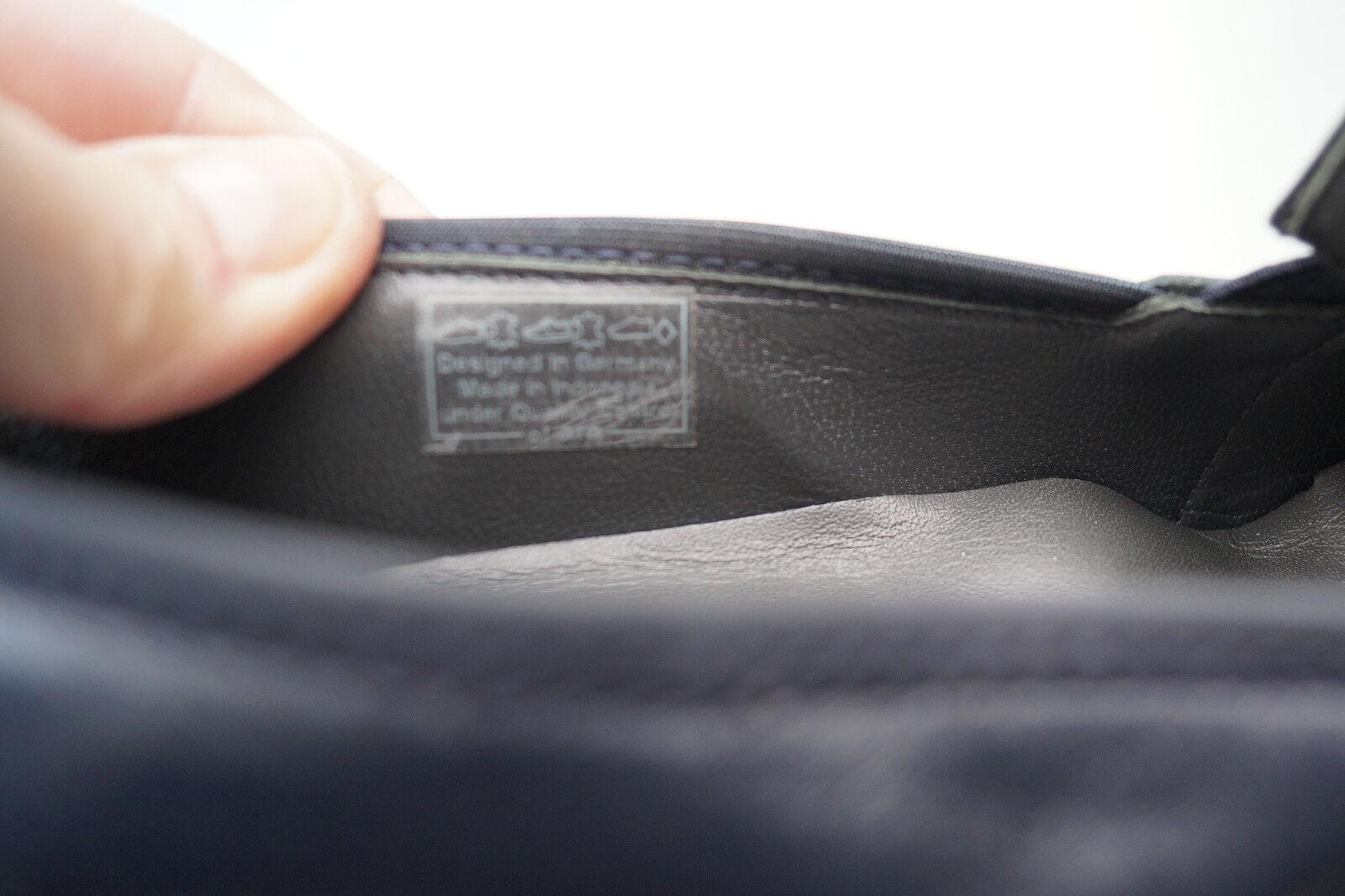 ARA ARA ARA Damen Comfort Schuh Slipper Pumps Leder marine Einlagen Gr.6 H 39,5 NEU +3 cbbca7