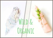 🌿Wild & Organic  WHITE SAGE Spirit Smudge STICK X 1 Item 💫🌿