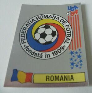 Panini USA 94 World Cup 1994 Foil Badge sticker Romania #77