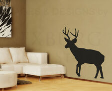 Deer Large Wall Decal Vinyl Sticker Art Decoration Decor Graphic Mural G60