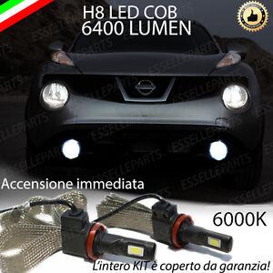 KIT-FULL-LED-NISSAN-JUKE-LAMPADE-H8-FENDINEBBIA-CANBUS-6400L-6000K