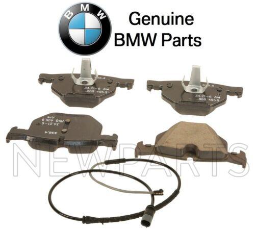 For BMW F15 F16 sDrive35i xDrive35d xDrive35i Rear Brake Pad Set /& Sensor OES