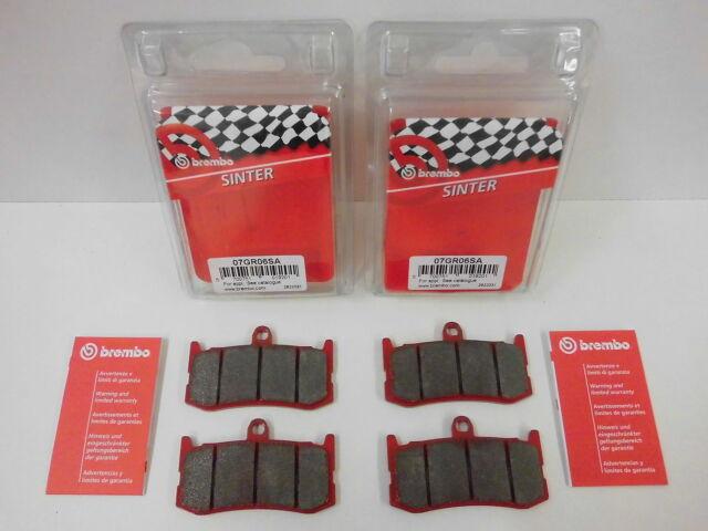 Brembo Bremsbeläge Bremsklöe Bremse vorne komplett Triumph Daytona 675 + ABS