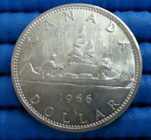 1966-Voyager-Canada-Dollar-Silver-Coin