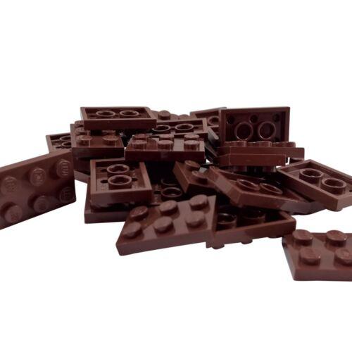 20 NEW LEGO Plate 2 x 3 Reddish Brown