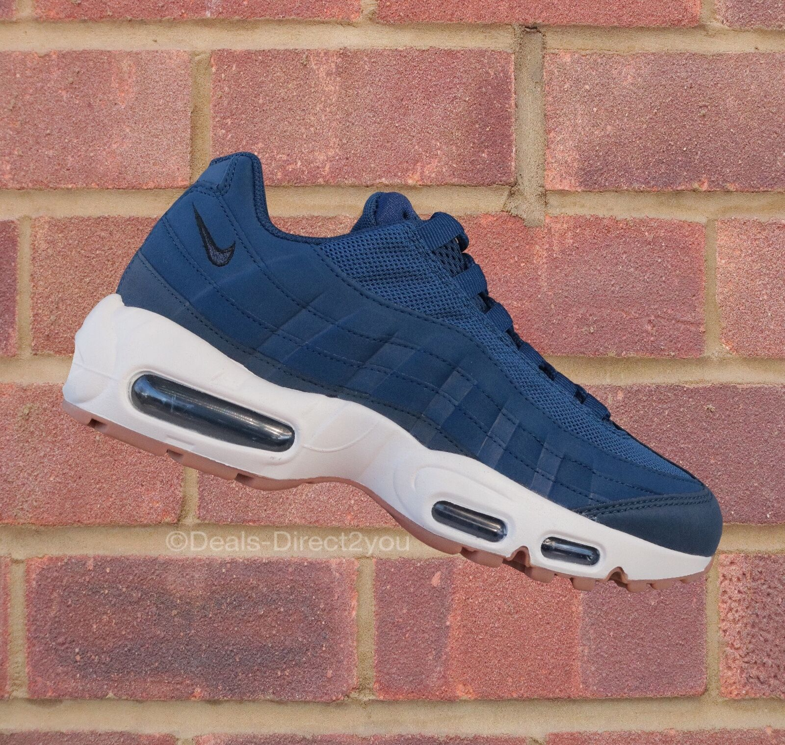 Nike Womens Bir Max 95 Coastal Blue / Navy Blue Size 4 5 6 UK NEW 307960 400