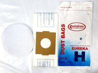 Eureka Vacuum Bags Style Type H Includes 24 Bags + 24 Filters