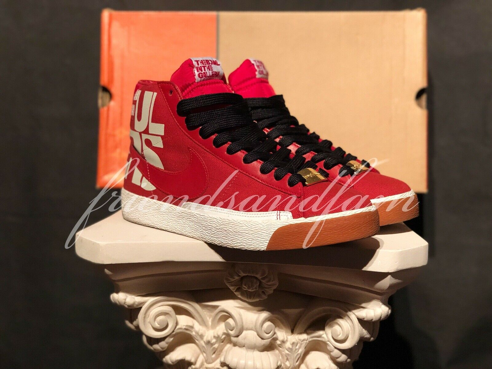 7babcc7046690d 2005 Nike Blazer Blazer Blazer 73 Beautiful Losers Supreme Red Shepard Kaws  Not Off White SB ...