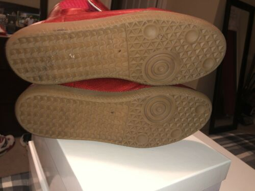 maison martin margiela shoes sneakers Red Metallic