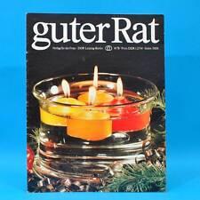 Guter Rat 4-1978 Verlag für die Frau DDR Tee Klubraum Handstaubsauger Stricken A