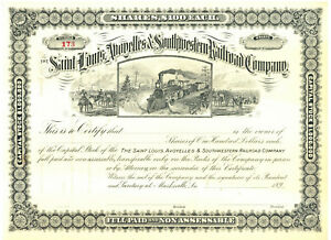 Saint-Louis-Avoyelles-amp-Southwestern-Railroad-Company-Stock-Certificate