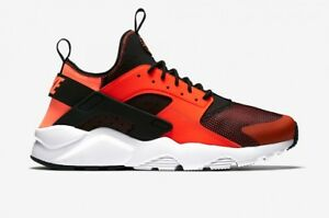ccc1ccabab8c Size 12   13 Nike Air Huarache Run Ultra 819685 008 orange Black ...