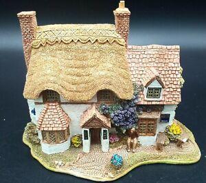 Lilliput Lane Cottage BLUE BOAR 1996 ~ Retired ~ No Original Box
