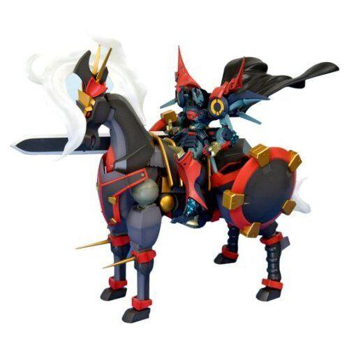 Kotobukiya Super Robot Wars OG Dygenguar with Aubenseiter Pferd Mode Model new.