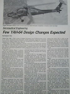 1-1977-ARTICLE-2-PAGES-FEW-YAH-64-HELICOPTER-DESIGN-CHANGES-EXPECTED