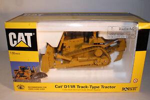 Norscot Caterpillar D11r Track Type Tracteur Avec Ripper Blade, 1:50 Echelle