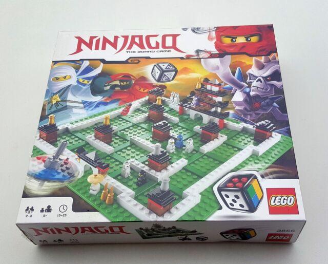 LEGO 3856 Board Games - Ninjago Retired Set (2011) New In Sealed Box