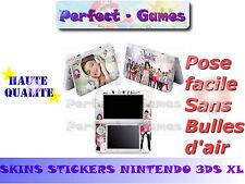 Skin sticker auto-collant vinyl  Violetta n°3 pour console nintendo 3DS XL LL