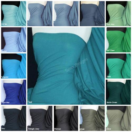 Coton Lycra élasthanne tissu jersey doux et respirant 4 Way matière stretch