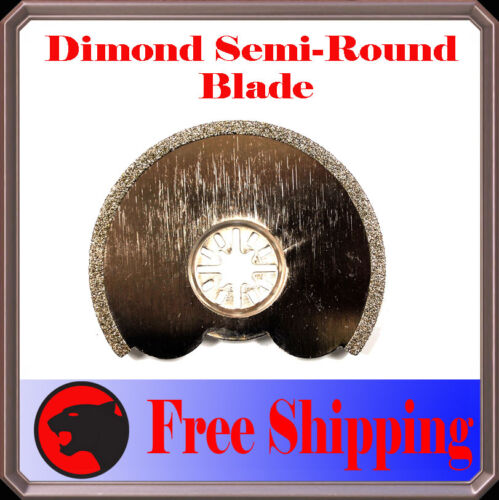 Diamond Round Oscillating Multi Tool Blade For Craftsman Nextec Bosch Multi-X