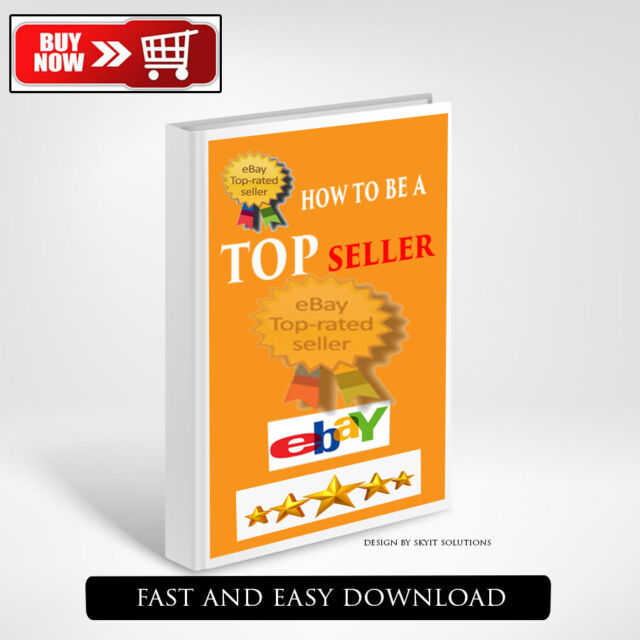 How To Become A Top Seller On Ebay Ebook Pdf With Full Master Resell Rights For Sale Online Ebay